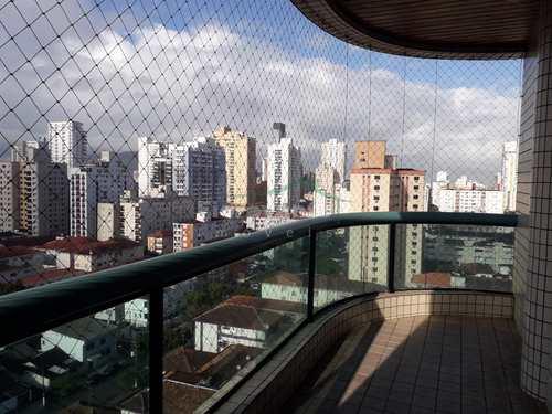 Apartamento, código 5021 em Santos, bairro Embaré
