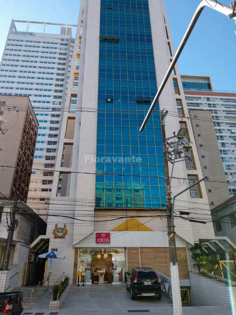Sala Comercial em Santos, no bairro Gonzaga