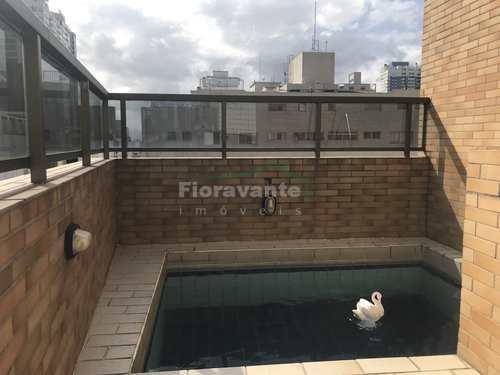 Cobertura, código 5080 em Santos, bairro Aparecida