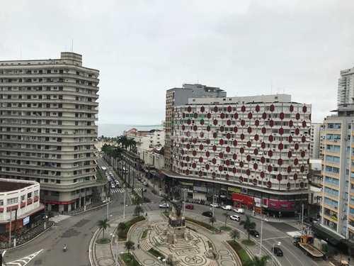 Apartamento, código 5325 em Santos, bairro Gonzaga