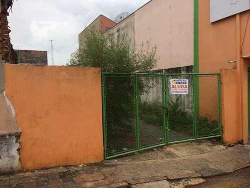 Terreno Comercial, código 27 em Tatuí, bairro Centro