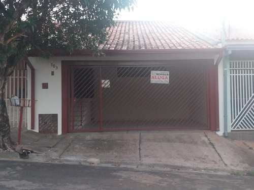 Casa, código 206 em Tatuí, bairro Vila Santa Emília