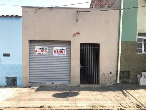 Casa, código 285 em Tatuí, bairro Centro
