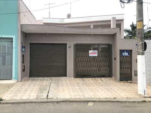 Casa, código 357 em Tatuí, bairro Centro