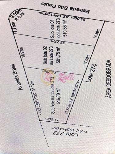 Terreno, código 1717 em Atibaia, bairro Jardim Estância Brasil
