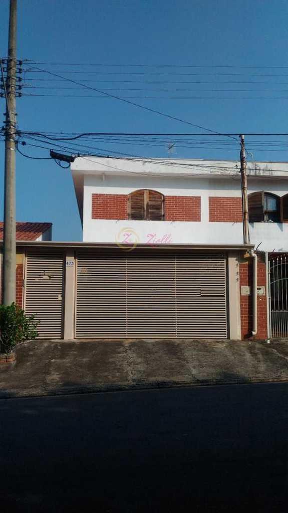 Sobrado em Atibaia, bairro Jardim Paulista