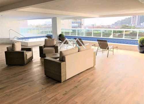 Apartamento, código 470 em Praia Grande, bairro Boqueirão