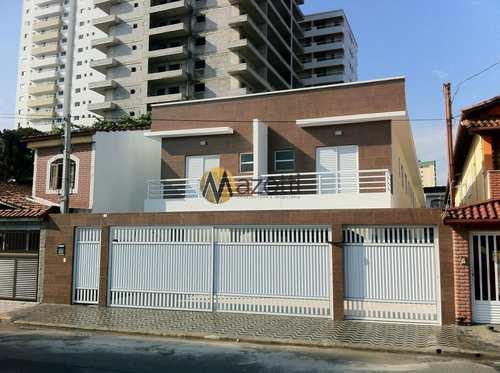Casa de Condomínio, código 603 em Praia Grande, bairro Guilhermina