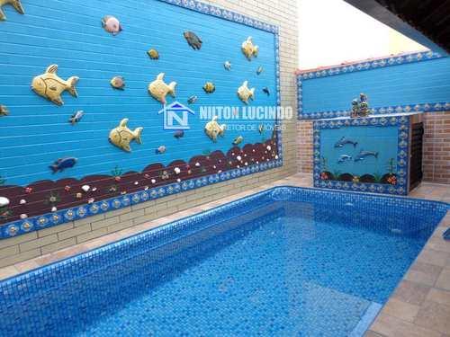 Casa, código 938 em Praia Grande, bairro Maracanã