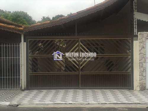 Casa, código 630 em Praia Grande, bairro Maracanã