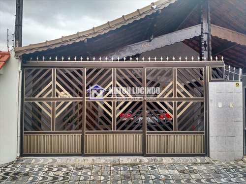 Casa, código 628 em Praia Grande, bairro Maracanã