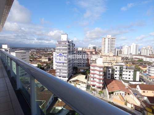 Apartamento, código 607 em Praia Grande, bairro Caiçara