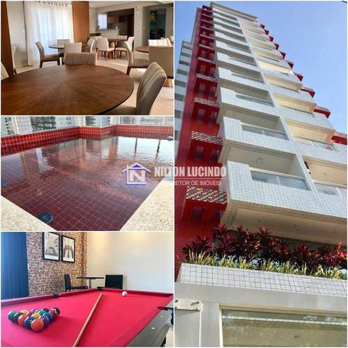 Apartamento, código 10094 em Praia Grande, bairro Canto do Forte