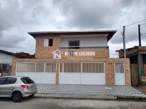 Casa de Condomínio, código 10151 em Praia Grande, bairro Melvi