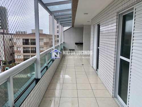 Apartamento, código 10456 em Praia Grande, bairro Caiçara