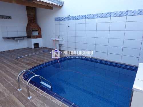 Casa, código 10490 em Praia Grande, bairro Maracanã