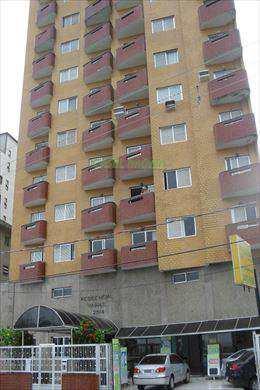 Apartamento, código 802853 em Praia Grande, bairro Guilhermina