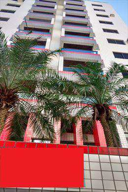 Apartamento, código 802851 em Praia Grande, bairro Guilhermina