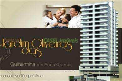 Apartamento, código 802703 em Praia Grande, bairro Guilhermina