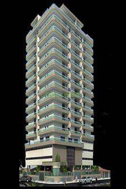 Apartamento, código 802455 em Praia Grande, bairro Ocian
