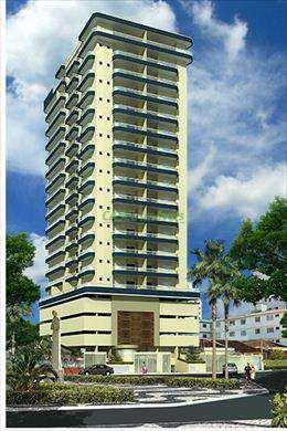 Apartamento, código 802453 em Praia Grande, bairro Guilhermina