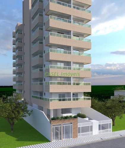 Apartamento, código 803991 em Praia Grande, bairro Guilhermina