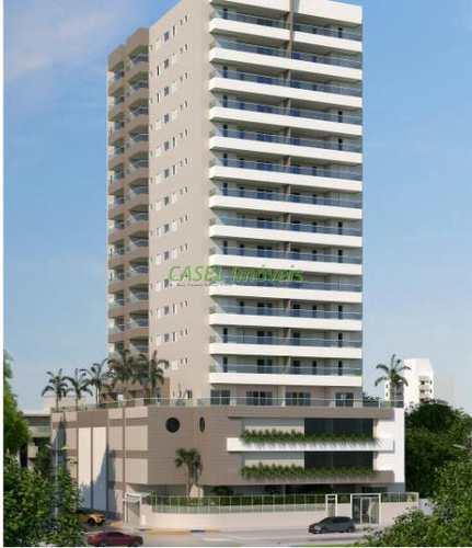 Apartamento, código 804027 em Praia Grande, bairro Caiçara