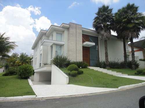 Casa de Condomínio, código 100 em Santana de Parnaíba, bairro Tamboré