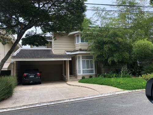 Casa de Condomínio, código 752 em Santana de Parnaíba, bairro Alphaville
