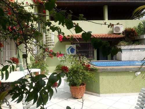 Casa, código 763 em São Vicente, bairro Vila Cascatinha