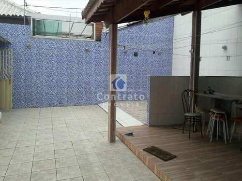 Casa, código 677 em São Vicente, bairro Vila São Jorge