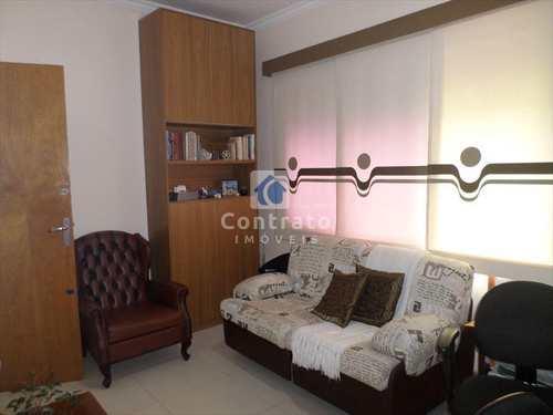 Apartamento, código 627 em São Vicente, bairro Itararé