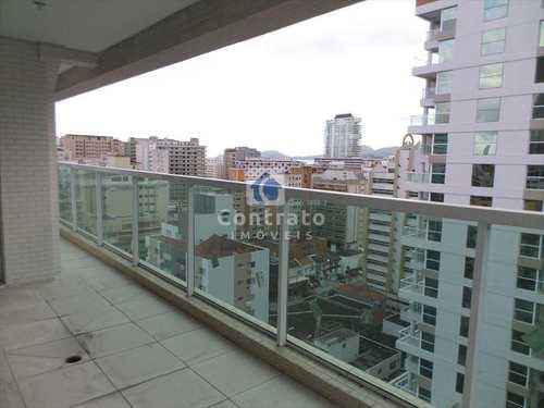 Apartamento, código 536 em Santos, bairro Gonzaga