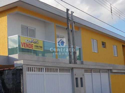 Sobrado, código 468 em São Vicente, bairro Vila São Jorge