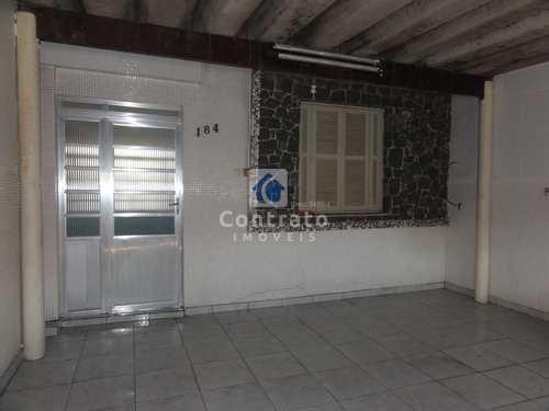 Casa, código 830 em São Vicente, bairro Catiapoa