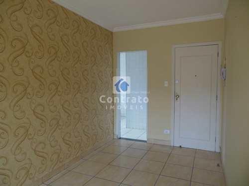 Apartamento, código 847 em São Vicente, bairro Parque Bitaru