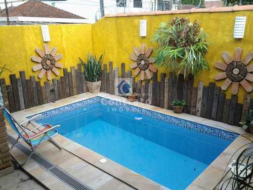 Casa, código 880 em São Vicente, bairro Vila Valença