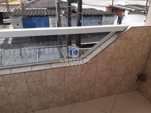 Sobrado, código 904 em São Vicente, bairro Vila Cascatinha