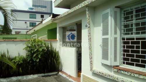 Casa, código 911 em São Vicente, bairro Centro