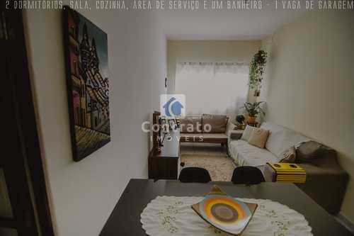 Apartamento, código 952 em São Vicente, bairro Vila Voturua