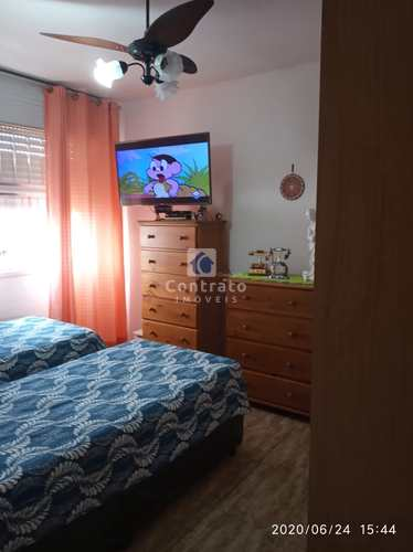 Apartamento, código 1020 em São Vicente, bairro Centro