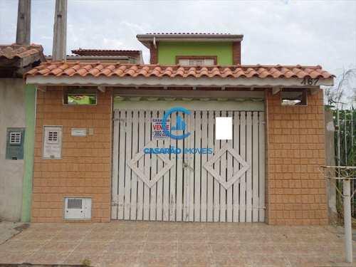 Sobrado, código 1086 em Caraguatatuba, bairro Balneário dos Golfinhos