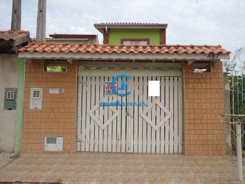 Sobrado em Caraguatatuba, bairro Balneário dos Golfinhos