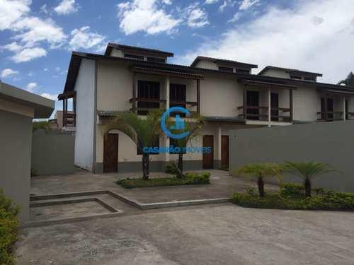 Sobrado de Condomínio, código 9017 em Caraguatatuba, bairro Praia das Palmeiras