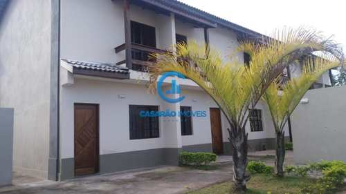 Sobrado de Condomínio, código 9055 em Caraguatatuba, bairro Praia das Palmeiras