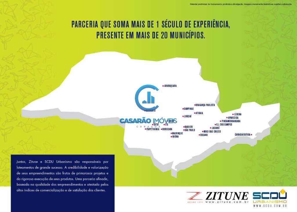 Loteamento em Caraguatatuba, no bairro Portal dos Passaros