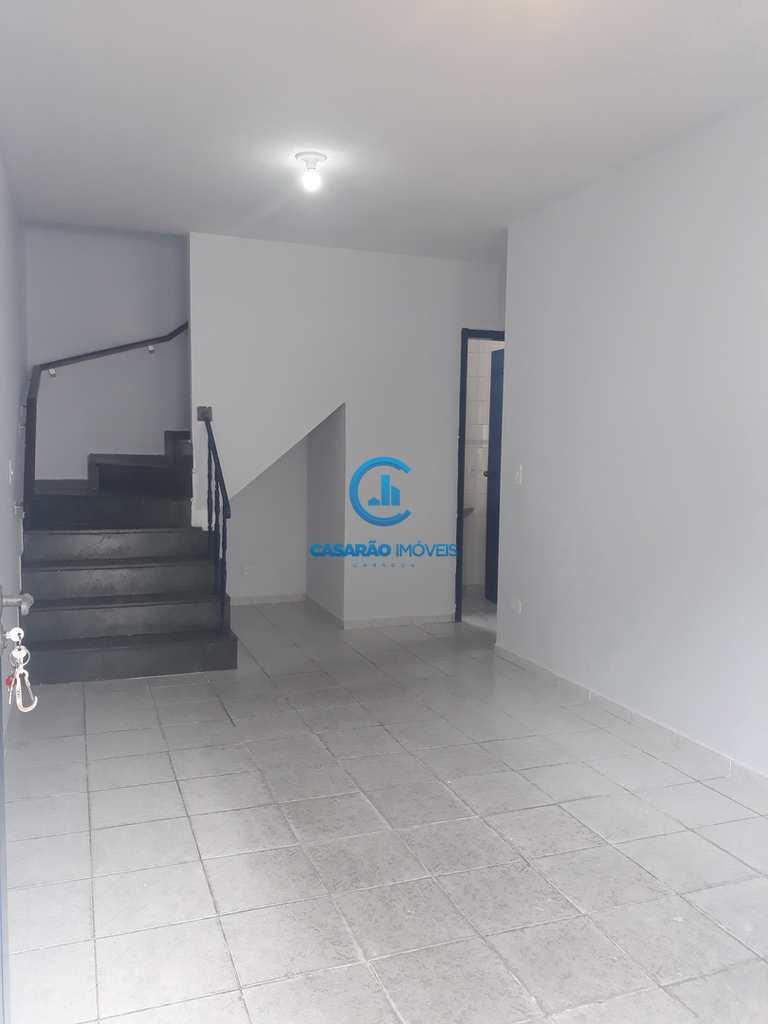 Sobrado de Condomínio em Caraguatatuba, no bairro Centro
