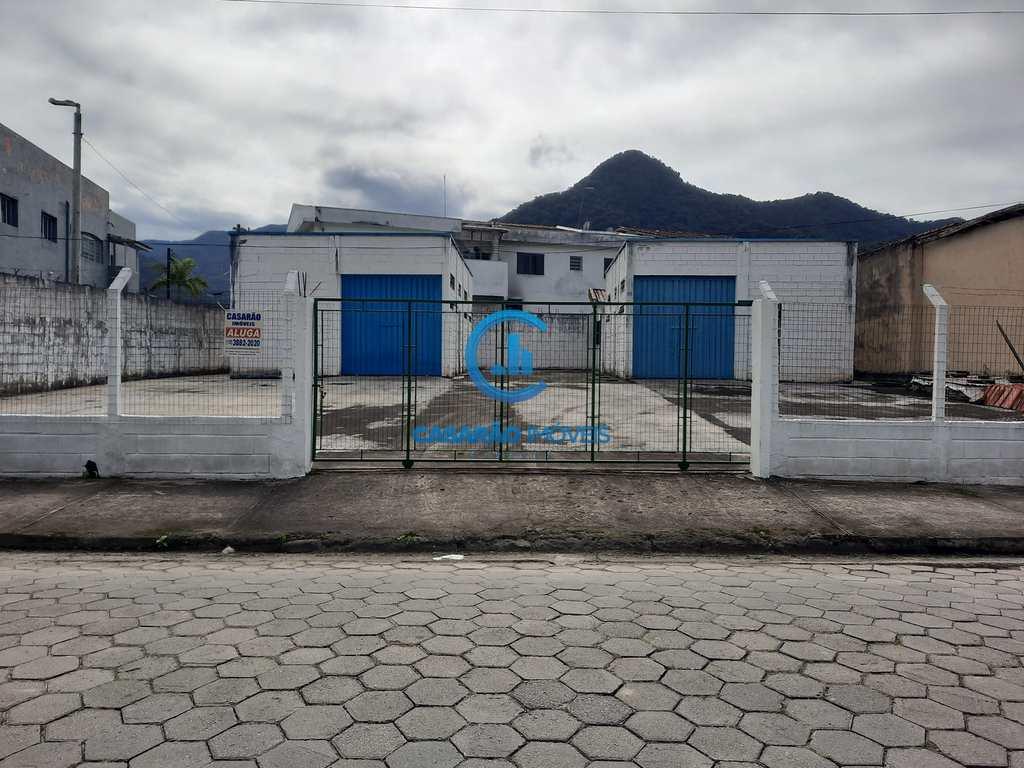 Galpão em Caraguatatuba, no bairro Martim de Sá