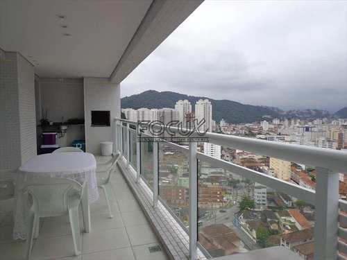 Apartamento, código 1634 em Santos, bairro Marapé