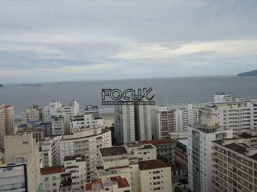 Cobertura, código 958 em Santos, bairro Gonzaga
